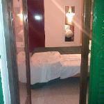 balcony to bedroom