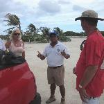 Our Mayan guide greeted us before we were even out of the car