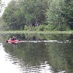 Kayaking and having FUN.