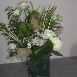 des fleurs fraiches, l'attention qui compte