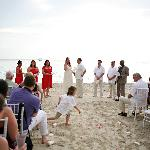 Our seaside ceremony