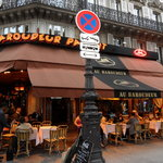 Across from the Gare du Nord