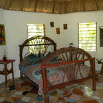 Interior shot of Butterfly Cabana