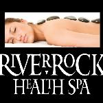 River Rock Health Spa Logo & Stone Massage
