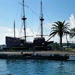 Ship replica
