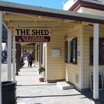 Foto de The Shed Ice Cream Parlour & Takeaway