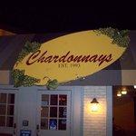 Chardonnay's entrance