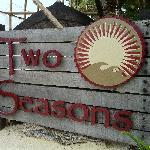 Two Seasons signage