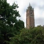 Cabot Tower dominates the Brandon Hill Reserve
