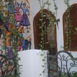 Artwork adorning all the walls