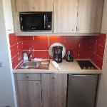 the little kitchen with everything you could need