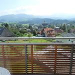 Aussicht vom Balkon Richtung Süden
