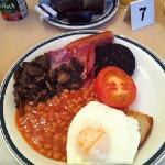 hearty Devoncove full Scottish breakfast