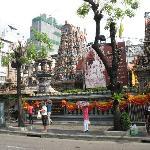 el templo hindú