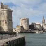 entrée fortifiée du port