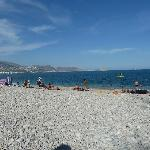 albir beach bit rocky but heaven