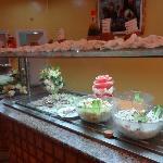 buffet des entrées