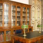 stanza della biblioteca