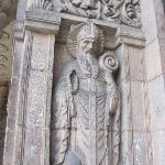 side statue
