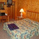 Glacier Highland, home of the knotty pine rooms!