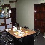 breakast table