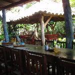 Additional dining/bar area.