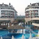 Veiw of hotel from pool