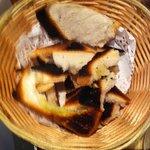 le pain de la salade cht'ti était carbonisé.