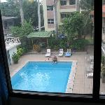 pool from 2nd. floor room