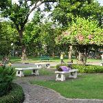 nearby Lumpini Park