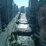 Vista desde la habitación piso 35