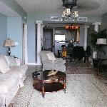 Living room, room 707