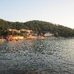 Lapad beach is 7 min walk