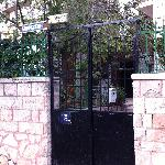 Gate entrance to Allenby #2