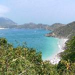 Vista desde Pontal do Atalaia hacia la Playa