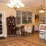 The Clarendon Inn's coffee and snack area