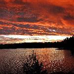 Sunrise on Blackstone Harbour