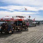 Sprague's Lobster shack.