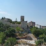 The castle from Rocca di Cerere