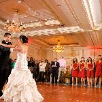 Gorgeous ballroom from our wedding photo teasers