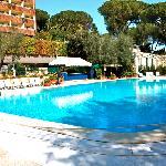 gros plan de la piscine
