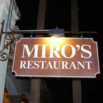 Miro's in Palm Springs