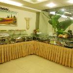ホテルの食堂です。