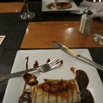 Panqueque de dulce de leche, shared two-ways.
