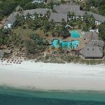 Reef Hotel Mombasa Aerial View