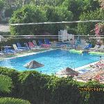 Sinem Aparts swimming pool