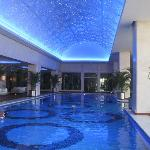 huge indoor pool