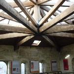 techo de una de las salas