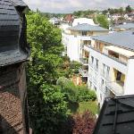 Blick auf Wiesbaden - ruhiger geht's wirklich nicht mehr