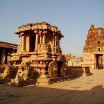 Hampi, Le chariot du temple de Vitthala